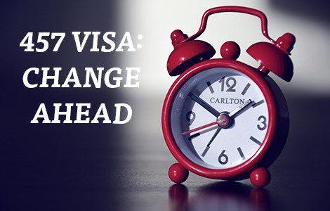 Cambiamenti al visto 457