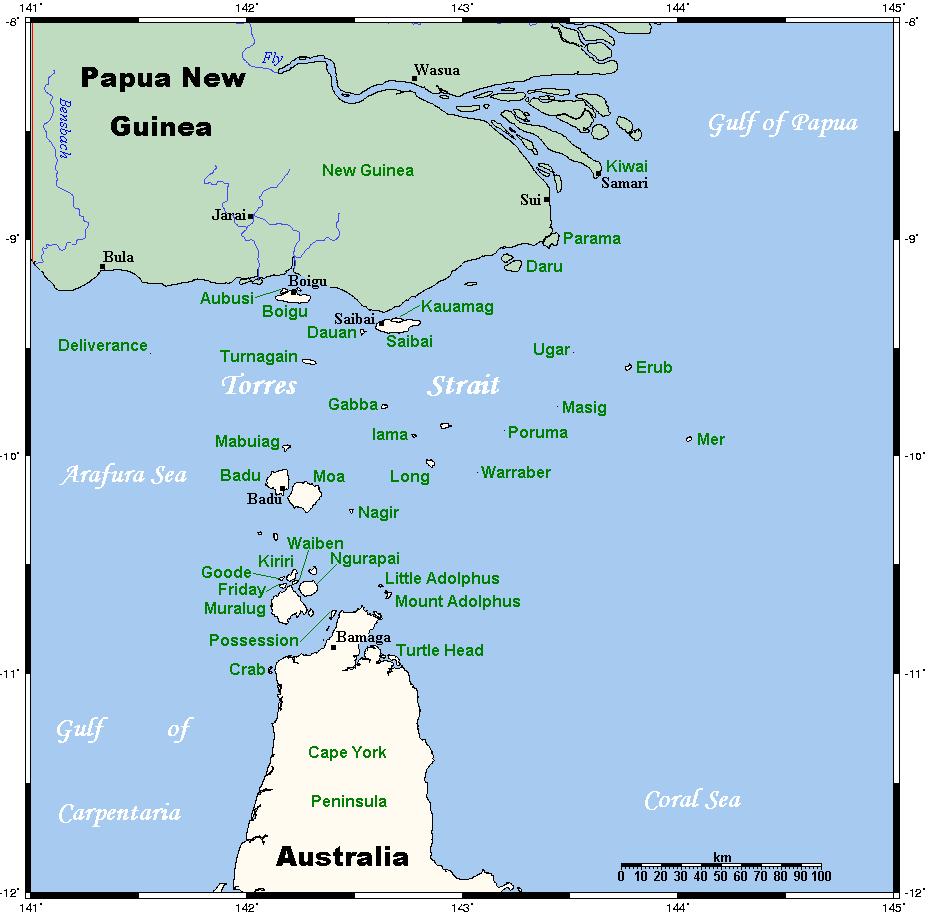 Bandiere australiane - Torres Strait Islander