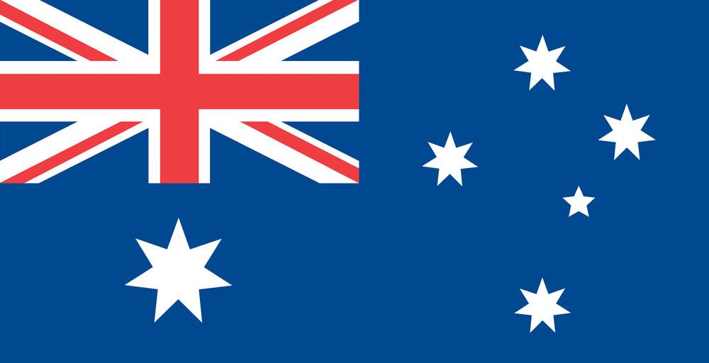 Bandiere australiane - bandiera nazionale