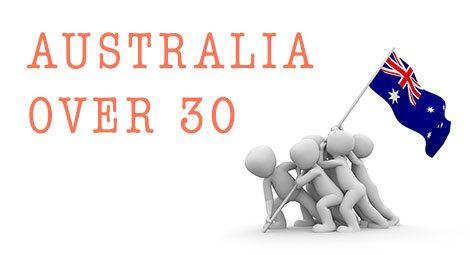 Australia over 30