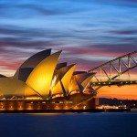 In quale città d'Australia arrivare?